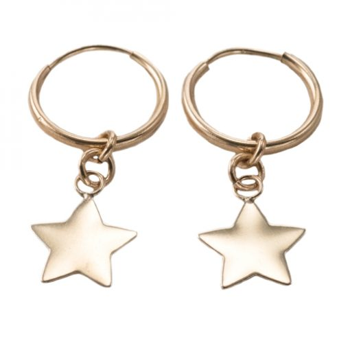 gold star hoop