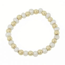 mother pearl gold stretch